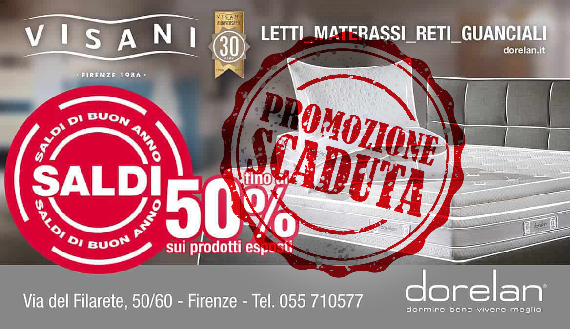 Promozioni e Offerte - Firenze - Visani Centro Dorelan